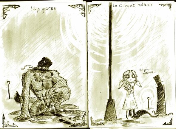 Wolf /Croque Mitaine